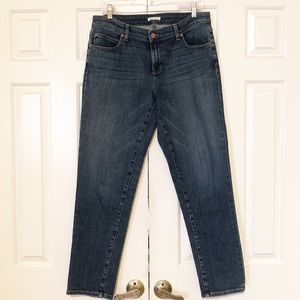Eileen Fisher Organic Cotton Stretch jeans 8 EUC
